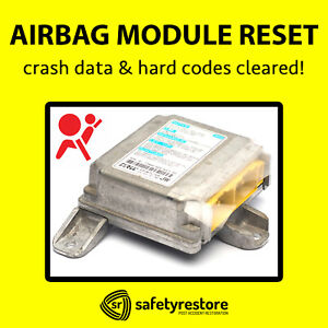 For Nissan Altima Srs Airbag Module Reset Crash Data Clear Codes