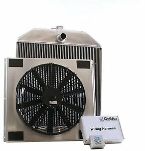 Griffin Radiators Cu 70102 Exactfit Radiator Combounit 1939 1940 Ford Deluxe Ear
