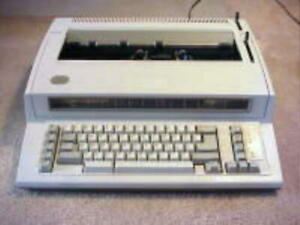 Refurb Ibm Wheelwriter Personal Model 1 Typewriter W 120 Days Warranty