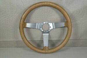 Steering Wheel Buckskin Original Gm For 1977 Corvette