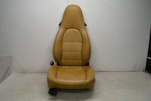 1997 2004 Porsche Boxster Left Driver Side Seat Tan 1113 Oem