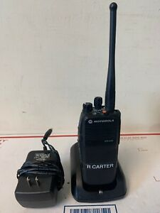 Motorola Xpr 6350 Uhf Aah55tdc9la1an 450 512mhz W Charger Tested