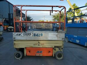 2014 Jlg 1930es Scissor Lift 164 9hrs 19 Platform Height 26 Working Height