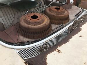 1959 1960 Cadillac Rear Brake Drum Parting Out Car