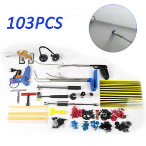 103pcs Tools Push Rods Car Body Paintless Dent Repair Kits Easy To Use New