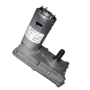 Electric Dc30v 24rpm High Torque Low Noise Reversible Gear Motor Speed Reduction