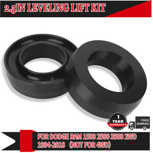 2 5 Lift Front Leveling Kit Fits For Dodge Ram 1500 2500 3500 2wd Aluminum