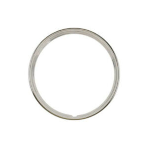 Wheel Trim Ring Stainless Steel 16 Ribbed 4 Ribs Ford 32 10158 1