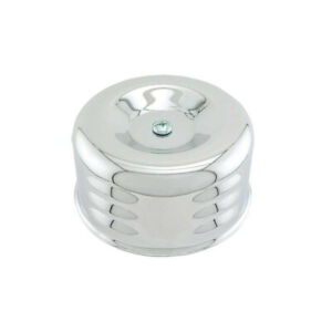 Street Rod Air Cleaner Louvered Style 2 5 16 Throat Fits 1 Barrel Carb