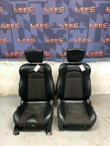 2014 Nissan 370z Oem Heated Black Front Seats
