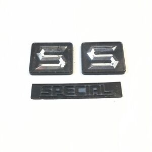 1987 Suzuki Samurai Se Special Edition Badge Targa Bar Dash Emblem