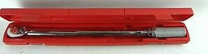 Snap on 1 2 Drive Torque Wrench Qjr3209c y3