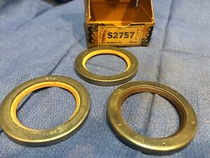 Nors 1934 1935 Hudson 8 Cylinder Rear Wheel Outer Seals 48340 S2757 5759