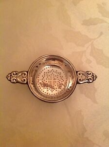 International Sterling Royal Danish Tea Strainer