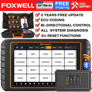 Foxwell Nt634pro Obd2 Scanner Abs At Srs Oil Tpms Dpf Epb Diagnostic Reset Tool