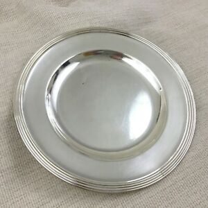 Christofle Silver Plate Charger Presentation Platter Underplate Antique French