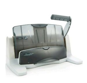 Brand New Swingline 74357 Adjustable Touch Heavy Duty Paper 3 Hole Punch