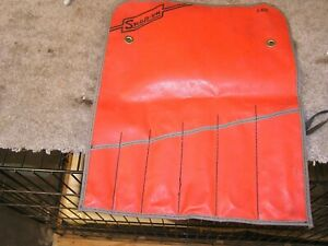Snap On Roll Up Tool Storage Pouch C 62b Holds 6 Large Wrenches Free Shipping