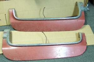 1971 1972 1976 Possibly Other Cadillac Deville L r Rear Fender Skirts