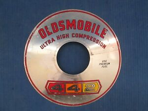 1964 Oldsmobile 442 Aircleaner Emblem Decal 10 Oem