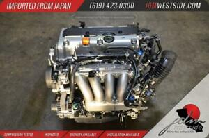 Jdm 03 06 Honda Element 03 04 05 06 07 Accord Engine K24a K24 2 4l Dohc I vtec