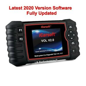 Icarsoft Vol V2 0 Volvo Diagnostic Obd Scan Scanner Tool 2019 Extra Features