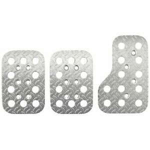 Sparco 03779an Race Pedal Set Diamond plated Lightweight Aluminum