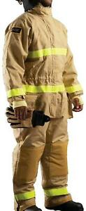 Lion Firefighter Protective Gear Suit Guard 1 Coveralls Fpg Large Regular Nomex