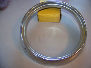 54 Plymouth Nos Stainles Headlight Bezel Door Either Side Belvedere Savoy Plaza