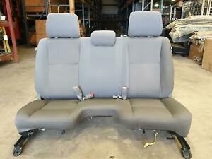 Toyota Tacoma Front Bench Seat Graphite In Color 2008 14 Nice Used Seat