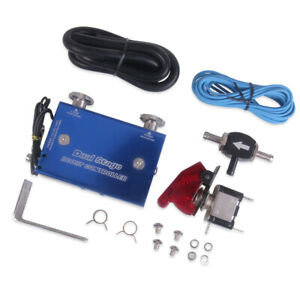Dual Stage Electronic Turbo Turbocharger Psi Boost Controller Kit With Switch