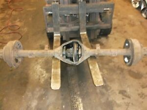 77 79 Ford F100 F150 Dana 60 Non Removeable Carrier Rear Axle 4 10 Differential