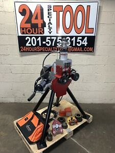Victaulic Ve416fsd Hydraulic Vic Roll Groover 2 16 Ags Grooving Ridgid 300 918