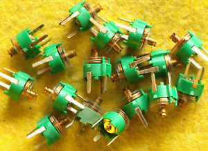 Philips 7 5mm Trimmer Capacitor 2 5 22pf Lot Of 100 Pcs