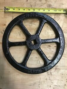 Hand Wheel For Gate Valve Afc Waterous Iron 12 Od Di 912226 Arrow Open Left
