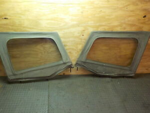 Jeep Wrangler Yj 87 95 Half Door Uppers Pair Free Shipping