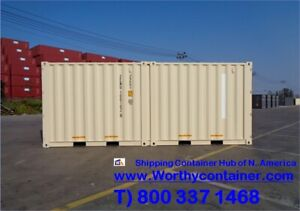 20 Dc Duocon 2x10 20 One Trip Shipping Container In Montreal Qc Canada
