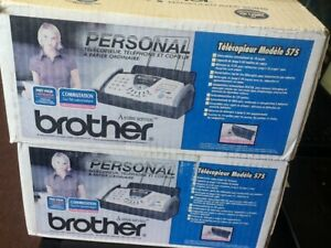 Brother Fax 575 Personal Plain Paper Fax Phone And Copier Qty 1