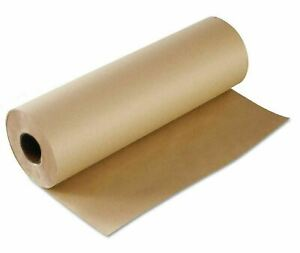 35 X 140 Kraft Paper Roll Brown Wrapping Paper For Shipping Gift And Party