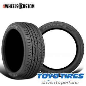 2 X New Toyo Proxes 4 Plus 295 30 20 101y Ultra High Performance Tire
