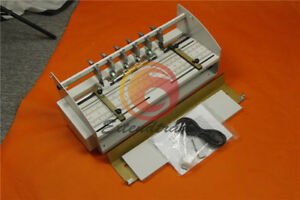 For Business Card 220v Electric Creasing Machine Indentation Machine Cutter