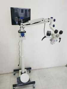 Gss Ear Nose And Throat Surgery Floor Mount Ent Microscope Motorized 5 Step