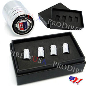 Alpina Bmw Logo Valve Stems Caps Covers Chromed Roundel Emblem Tires Wheels Usa