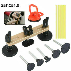Paintless Car Puller Bridge Suction Cup Sucker Body Dent Repair Removal Tool Kit