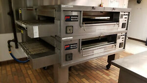 Pizza Oven Double Stack Middleby Marshall Ps570s Conveyor Gas Used Works Good