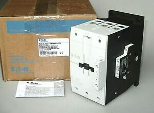 Eaton Dilm95 Contactor Xtce095fs1td 24 Vdc Coil 75 Hp 1 N o 1 N c Aux