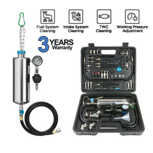 Fuel Injector Cleaner Tester Non dismantle Fuel System Petrol Car Autool C100
