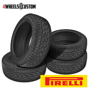 4 X New Pirelli Scorpion A t 265 75r16 116t All Season Performance Tires