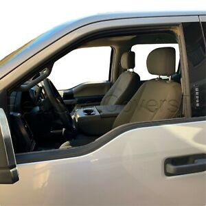 Waterproof 4pc Front 2 Low Back Bucket Seat Cover For Ford F Series Xlt Xl Base