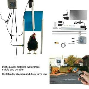 Automatic Infrared Chicken Coop Door Opener Light Sensor With Remote Control
